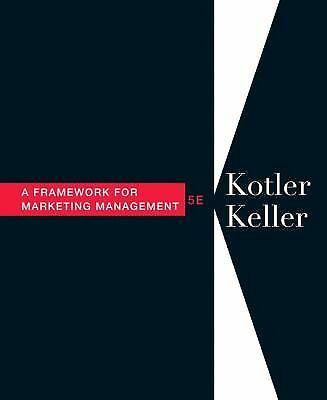 Framework for Marketing Management (5th Edition), Keller, Kevin, Kotler, Philip,
