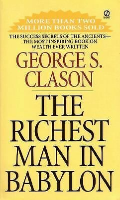 The Richest Man in Babylon, Clason, George S., Good Book