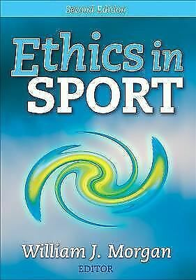 Ethics in Sport - 2nd Edition, Morgan, William, Very Good Book