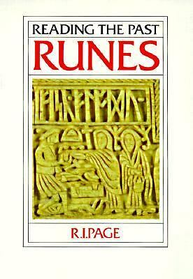 Runes (Reading the Past), Page, R. I., Very Good Book