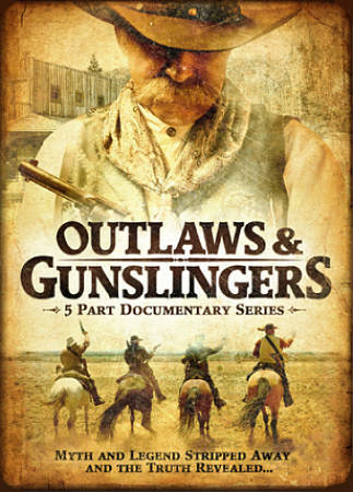 Outlaws & Gunslingers (DVD) New!! Sealed!!