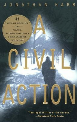 A Civil Action, Jonathan Harr, Very Good Book