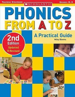 Phonics from A to Z (2nd Edition) (Scholastic Teaching Strategies), Blevins, Wil