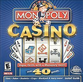 Monopoly Casino  (PC, 1999) New!!  XP