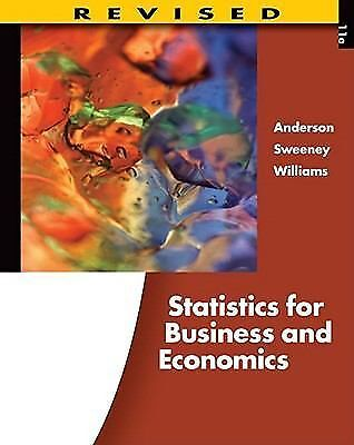 Statistics for Business and Economics, Revised (with Printed Access Card), Willi