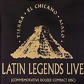 Tierra Chicano Malo: Latin Legends Live, Various Artists, Live