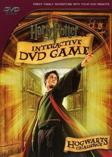 Harry Potter Interactive DVD Game (DVD,2007) New!! Sealed!!    Kids/Family