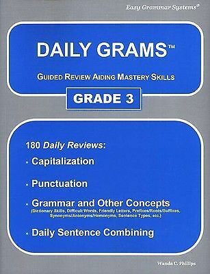 Daily Grams: Grade 3 by Phillips, Wanda C.