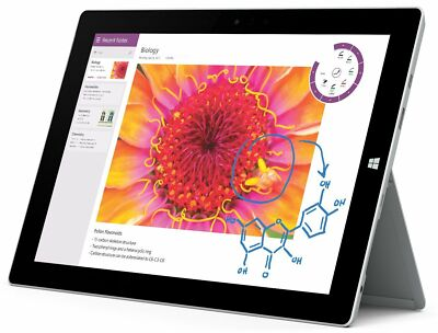 "New Microsoft Surface 3 Tablet, Intel Atom, 10.8"" 64GB or 128GB +1Yr WARRANTY"