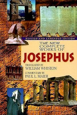 The New Complete Works of Josephus, Flavius Josephus, Books