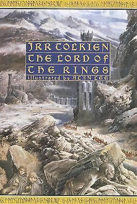 The Lord of the Rings (Illustrated Edition), J.R.R. Tolkien, Books