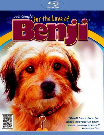 For the Love of Benji   New!! Sealed!!     Blu-ray    Kids/Family