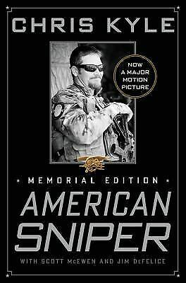 American Sniper: Memorial Edition, DeFelice, Jim, McEwen, Scott, Kyle, Chris, Bo