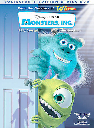 Disney/Pixar® Monster's Inc. Deluxe Edition with Bonus DVD, DVD, , ,