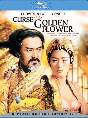 CURSE OF THE GOLDEN FLOWER - Blu-Ray Movie, DVD, , ,