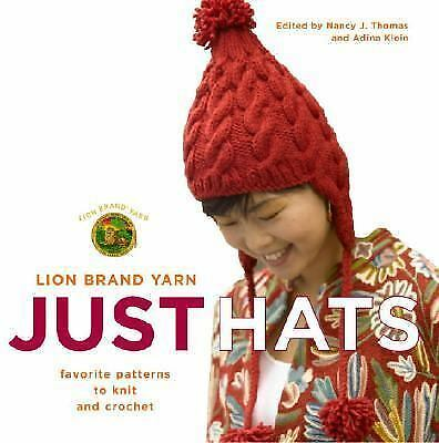 KNITTING & Crochet PATTERNS~Hats~112 pages~Inc. basic instructions