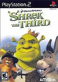 Shrek the Third - PlayStation 2, Good PlayStation2, Playstation 2 Video Games