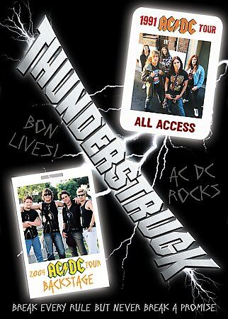Thunderstruck (DVD,2005) New!! Sealed!!  AC/DC fans!!  S@LE!!