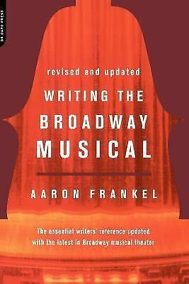 Writing The Broadway Musical, Frankel, Aaron, Good Book