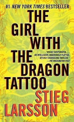 The Girl with the Dragon Tattoo No. 1 by Stieg Larsson (2009, Paperback)