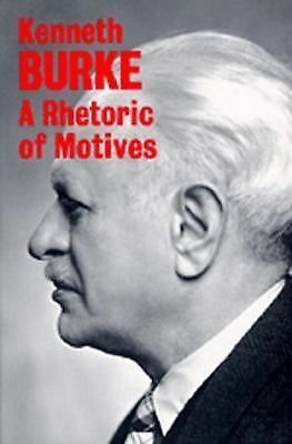 A Rhetoric of Motives, Burke, Kenneth, Acceptable Book