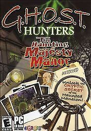 G.H.O.S.T. Haunting of Majesty Manor (PC Games)NEW!! SEALED!!  WIN/MAC