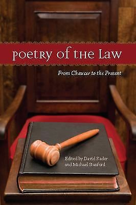 Poetry of the Law: From Chaucer to the Present, , Excellent Book