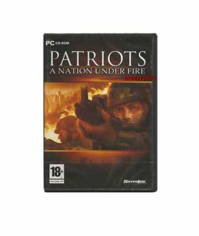 Patriots: A Nation Under Fire (PC) New!! Sealed!! Rated 18+/M  WIN 98/Me/2000/XP