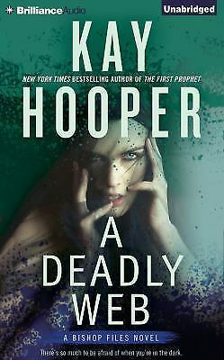 A Deadly Web (Bishop Files Series), Hooper, Kay, Very Good Book
