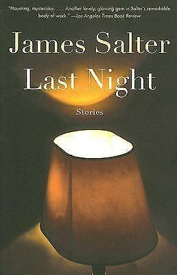 Last Night, Salter, James, Good Book