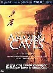 Journey into Amazing Caves (DVD,2002) New!! Sealed!!   NatGeo