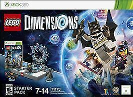 BRAND NEW LEGO DIMENSIONS: STARTER PACK - XBOX 360