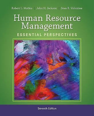 Human Resource Management: Essential Perspectives, Valentine, Sean R., Jackson,