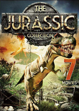 The Jurassic Collection: 7 Movies (DVD, 2015, 2-Disc Set)