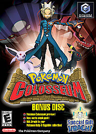 Pokemon Colosseum Bonus Disc, Good GameCube Video Games