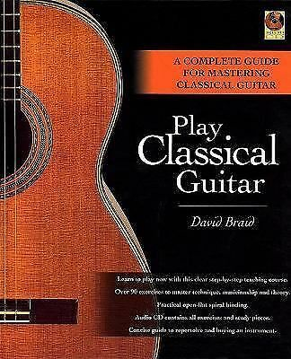 Play Classical Guitar, David Braid, Books