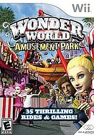 Wonder World Amusement Park, Good Nintendo Wii, Nintendo Wii Video Games
