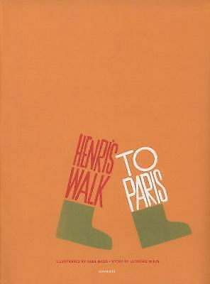 Henri's Walk to Paris, Klein, Leonore, Very Good Book