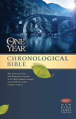 The One Year Chronological Bible NKJV by