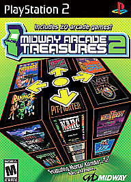 Midway Arcade Treasures 2, Good Playstation 2 Video Games