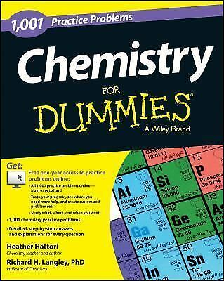 Chemistry: 1,001 Practice Problems For Dummies (+ Free Online Practice), Langley