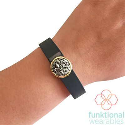 Charm to Accessorize Fitbit or Jawbone Fitness Trackers - The FAITH Charm