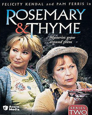 Rosemary & Thyme - Series Two DVDs-Good Condition