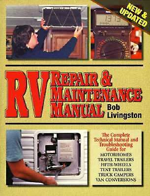 RV Repair & Maintenance Manual [New & Updated]  Books-Acceptable Condition