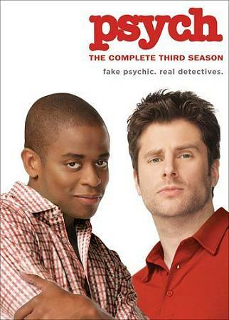 Psych: The Complete Third Season DVDs-Good Condition
