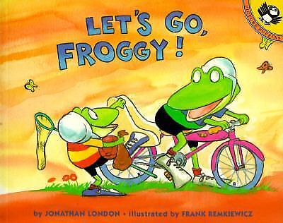 Froggy: Let's Go, Froggy! by Jonathan London (1996, Paperback)