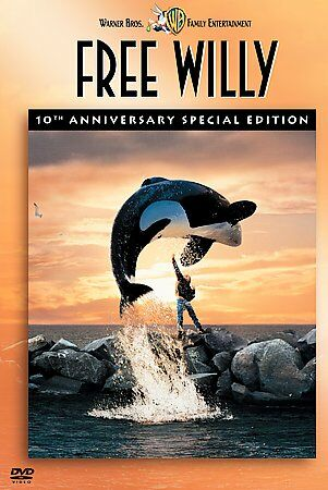 Free Willy 1,2, and 3(DVD, 2003, 10th Anniversary Special Edition)