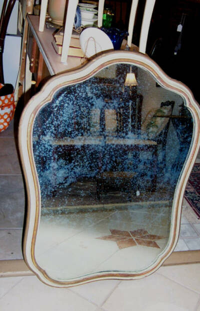 Widdicomb-Ralph -French Style 1930's Painted Mirror