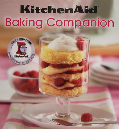 KITCHENAID MIXER Baking Companion Breads,Brownies,Cupcakes,Muffins NEW FREE SHIP