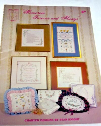 MEMORIES FOREVER AND ALWAYS BOOKLET JENNY DESIGNS WEDDINGS OCCASIONS COUNTED